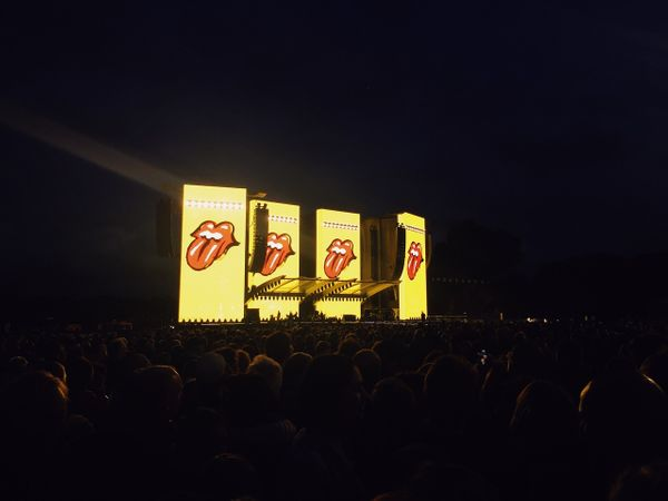 The fucking rolling stones live in Hamburg 2017.